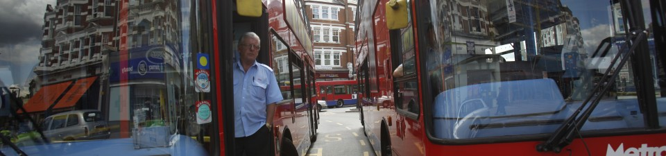 Travelling in London - Buses at Muswell Hill