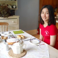 Taking Afternoon Tea in an English Home