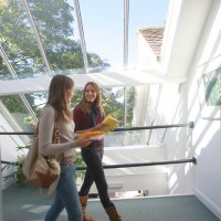 Our bright and airy purpose-built school is the perfect place for studying