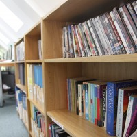 You can borrow books and DVDs from our Self Access Centre