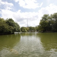 The Boating Lake at Alexandra Palace